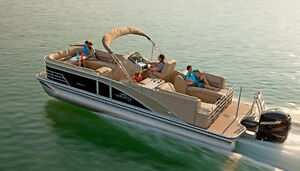 PONTOON BOATS ARE SELLING FAST GET YOUR ORDER IN NOW