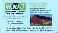 WMJ Commercial Coatings COMMERCIAL AND BARN PAINTING