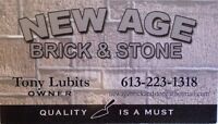 NEW AGE BRICK AND STONE