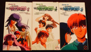 HERE IS GREENWOOD, JAPANESE ANIME COLLECTION COMPLETE 1-2-3, VHS