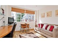 SOUTH KENSINGTON. Stunning Studio flat with GYM, SAUNA, INTERNET. AVAILABLE NOW