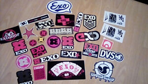 Collants stickers exo skate
