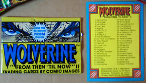 WOLVERINE: FROM THEN TILL NOW II MINT FULLBASE SET 90 CARDS 1992