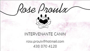 Rose Proulx Intervenante Canin