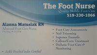 The Foot Nurse - Quality Mobile Foot Care