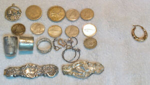 Scrap Gold & Silver Coins Jewelry *BONUS*