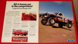 COOL 1987 FORD RANGER SXT 4 X 4 PICKUP TRUCK AD - RETRO ANONCE