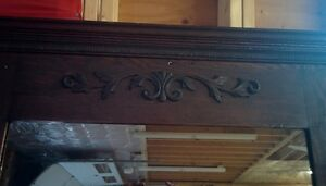large antique mirror Windsor Region Ontario image 3