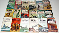 WW2 - Set of 18 Vintage Military History from Pacific to Europe