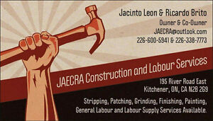General Construction Work - Full Time (No Experience Required) Kitchener / Waterloo Kitchener Area image 1
