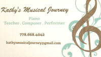 **Piano Lessons for ADULTS**