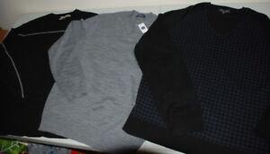 New MEN - M, XL SWEATERS - BLACK