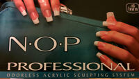 N.O.P. Professional Odorless Acrylic sculpting system Kit