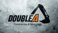 Double A Construction and Fabrication
