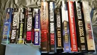 "JAMES PATTERSON BOOKS ""ALEX CROSS"" SERIES"