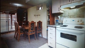 Two bedroom Walkout basement available