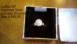 Gold Plated Stainless Steel Rings