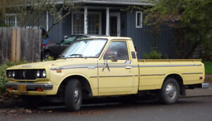 WANTED 1975 toyota hilux windshield