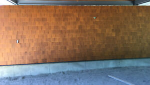 Prefinished Cedar shingles