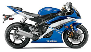 2011 OEM Yamaha R6 body work, white/blue