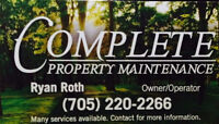 Complete Property Maintenance & Outdoor Specialist