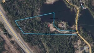 3-1/2+ Acre Waterfront Lot for Sale on quiet dead end road.