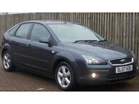 1 OWNER FROM NEW Ford Focus 1.8 TDCi 2007 Zetec Climate (LOW MILEAGE DIESEL)