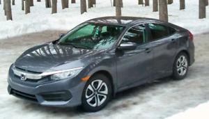 Honda Civic 2016 manuelle