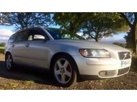 VOLVO V50 R DESIGN 2.0 D 12 MONTHS MOT NEW MICHELIN TYRES XENON + PART X ACCEPTED