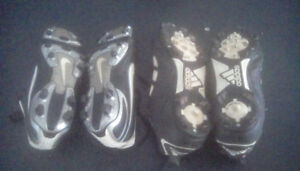 Kids soccer cleats (Nike and Adidas)