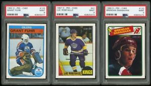 LUC ROBITAILLE .... GRADED .... PSA 9 ... O-Pee-Chee ROOKIE CARD