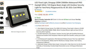 Brand New LED Flood Light Outdoor Security Light for Yard Party