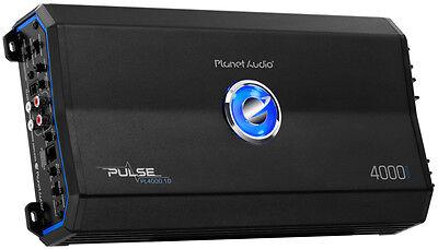 Planet Audio Pl4000 1D 4000 Watt Pulse Class D Monoblock Amplifier Mono Car Amp