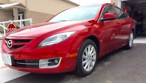 2013 MAZDA 6 GT - LEATHER