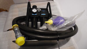 Air Caddy  Filter Regulator Lubricator 10 ft Hose FRL UniI New Kitchener / Waterloo Kitchener Area image 2