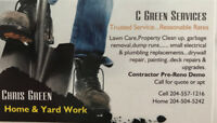 C Green Services-Home and Yard