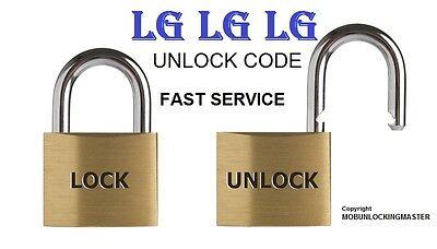 Unlock Code LG Risio 2 M154 G6 H340 Risio Escape2 3 H634 H343 V930 Spree G6 H870