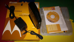 Motorola SURFboard cable modem from Videotron