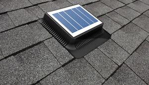 Solar Attic/Roof Vent