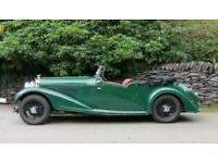 1935 Bentley 4.25 VdP style Cutaway door Tourer.