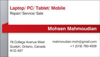 PC, LAPTOP, TABLET and MOBILE Services