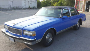 1987 Chevrolet Caprice Classic (REDUCED PRICE MUST GO!)