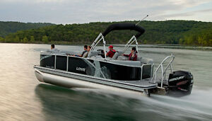 PONTOON BOATS GOING FAST LIMITED QUANTITY