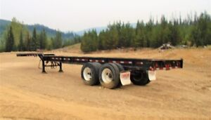 Adjustable Container Trailer for sale