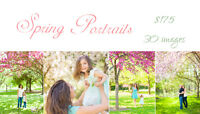 This week only Spring bloom family/maternity/engagementPortraits