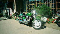 Honda VTX 1800C Uranium Green Low km