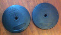 for sale/trade two 22lb weider weights