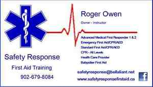 First Aid Training - All levels