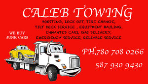 caleb towing
