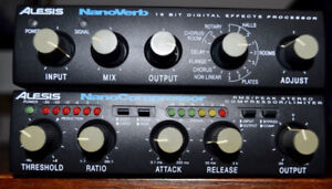 Alesis Nanoverb and Nanocompressor